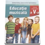 Educatie muzicala, manual pentru clasa a V-a. Contine si editia digitala - Autor, Anca Toader