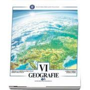 Geografie, manual pentru clasa a VI-a de Mihaela Cornelia Fiscutean