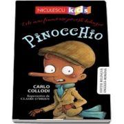 Pinocchio. Editie bilingva engleza-romana - Carlo Collodi
