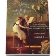 Primul profesor de pian, Opus 599, caietul I de Carl Czerny