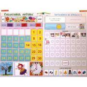 Calendarul naturii 2019. Intalnirea de dimineata - Joc educativ cu jetoane magnetice