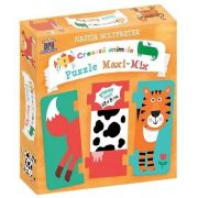 Creeaza animale. Puzzle Maxi Mix - Nastja Holtfreter