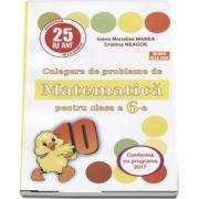 Culegere de probleme de matematica, PUISORUL - pentru clasa a VI-a. Editia XXV - 2018 - Ioana Monalisa Manea