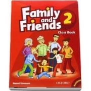 Family and Friends 2 Class Book and MultiROM Pack - Naomi Simmons