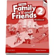Family and Friends: Level 2, Workbook with Online Practice Cards - Naomi Simmons
