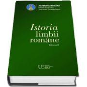 Istoria limbii romane, volumul I