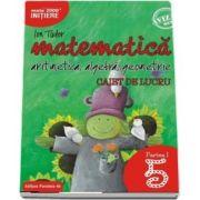 Ion Tudor - Matematica 2000, Initiere. Aritmetica, algebra, geometrie. Caiet de lucru, pentru clasa a V-a. partea I. Editia a II-a revizuita si adaugita