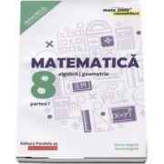 Anton Negrila - Matematica - CONSOLIDARE 2018 - 2019. Algebra si Geometrie, pentru clasa a VIII-a. Partea I. Colectia mate 2000, Editia a VII-a