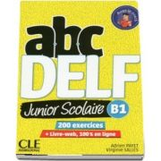 ABC DELF Junior scolaire - Niveau B1 - Livre - DVD - Livre-web - 2eme edition - Adrien Payet