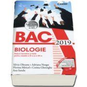 Bacalaureat Biologie 2019 - Notiuni teoretice si teste pentru clasele a XI-a si a XII-a, 55 de teste propuse - Silvia Olteanu