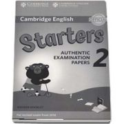 Cambridge English Young Learners 2 for Revised Exam from 2018 Starters. Answer Booklet - Authentic Examination Papers