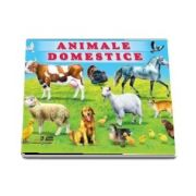 Carte cu 100 de abtibilduri. Animale domestice