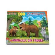Carte cu 100 de abtibilduri. Animalele din padure