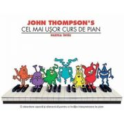 Cel mai usor curs de pian, partea intai de John Thompsons