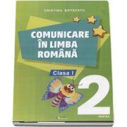 Comunicare in limba romana, auxiliar pentru clasa I, partea 2 - Botezatu Cristina