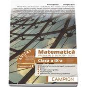 Marius Burtea - Culegere de matematica, clasa a IX-a. Probleme si exercitii, teste - Profilul tehnic. Semestrul I