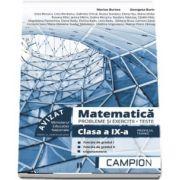 Marius Burtea - Culegere de matematica, clasa a IX-a. Probleme si exercitii, teste - Profilul tehnic. Semestrul II