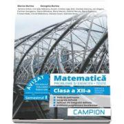 Marius Burtea - Culegere de matematica, clasa a XII-a. Probleme si exercitii, teste - Profilul tehnic. Semestrul I