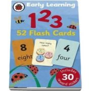 Ladybird early learning. 123 flash cards