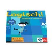 Logisch! (A1) Deutsch fur Jugendliche Audio-CD zum Kursbuch - Format CD - Koithan Ute
