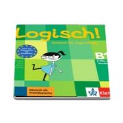 Logisch! (B1) Deutsch fur Jugendliche, 2 Audio-CDs zum Kursbuch - Format CD - Stefanie Dengler