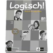 Logisch! Deutsch fur Jugendliche - Arbeitsbuch (B1) mit 2 Audio-CDs - Stefanie Dengler