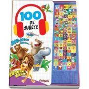 100 de sunete - Carte cu sunete - Varsta recomandata 3 ani +