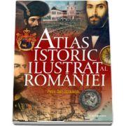 Atlas istoric ilustrat al Romaniei - Hotarele romanismului in timp