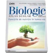 Silvia Olteanu, Atlas scolar de biologie pentru clasa a VI-a. Functiile de nutritie in lumea vie