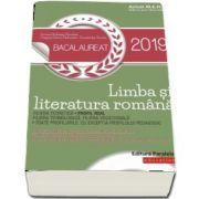 Bacalaureat 2019. Limba si literatura romana. Profil real - Dorica Boltasu Nicolae