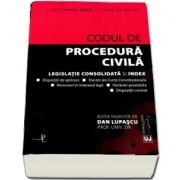 Codul de procedura civila - Legislatie consolidata si index (Editia a 4-a, septembrie 2018)