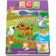 Copiii creeaza carti. Invata despre animale