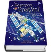 Descopera Spatiul. Carte cu peste 50 de clapete si o brosura cu Hartile cerului