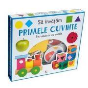 Sa invatam primele cuvinte - Set educativ cu puzzle