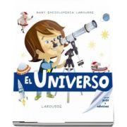 Universul. Enciclopedia celor mici, contine un puzzle si abtibilduri (Larousse)