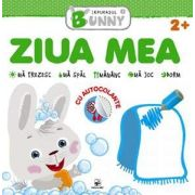 Ziua mea, carte cu autocolante - Colectia Iepurasul Bunny