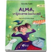 Alma, vrajitoarea buclucasa - Hexe Alma verhext sich (Editie bilingva germana-romana)