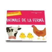 Animale de la ferma. Prima mea carte Montessori