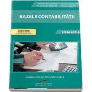 Bazele contabilitatii, pentru clasa a IX-a