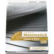 Culegere de probleme, pentru clasa a XI-a. Matematica M2 (Editie 2018)
