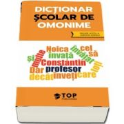 Dictionar scolar de omonime (include acces la varianta digitala)