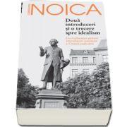 Doua introduceri si o trecere spre idealism de Constantin Noica