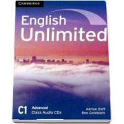 English unlimited advanced. Class audio CD