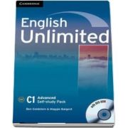 English unlimited advanced self-study pack. Workbook with DVD