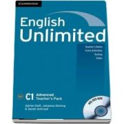 English Unlimited Advanced Teachers Book with DVD-ROM