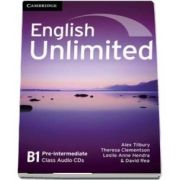 English Unlimited Pre-intermediate Class Audio CD