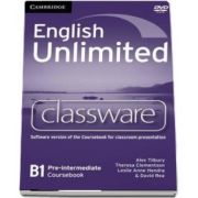 English Unlimited Pre-intermediate Classware DVD