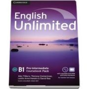 English Unlimited Pre-intermediate. Coursebook with e-Portfolio and online workbook pack
