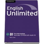 English Unlimited Pre-intermediate. Testmaker CD-ROM and Audio CD
