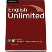 English unlimited starter. Testmaker CD-ROM and audio CD